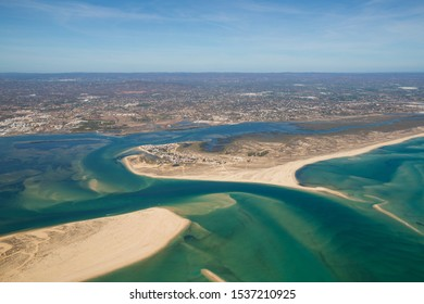 Natural Reserve Ria Formosa, Portugal, a Bird's Eye View
