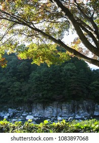 Natural rock formation (scenic beauty), Japan
