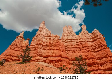 Natural rock formation in the shape of Queen Victoria called Victoria Gardens in Bryce Canyon National Park, Utah, United States.