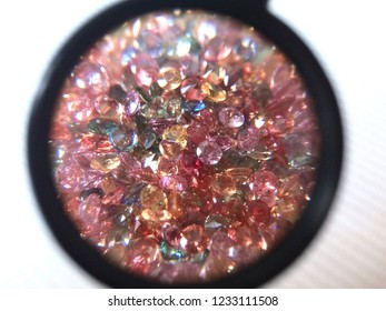 natural ruby, fancy sapphire, pink sapphire square princess cut for fashion jewellery