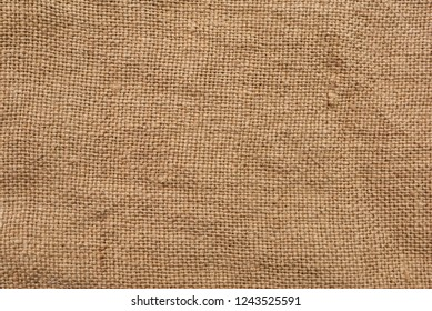 Natural Sackcloth Texture Macro