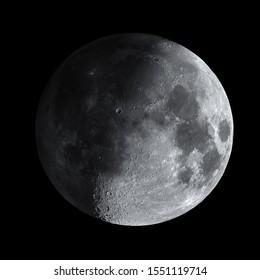 Natural satellite, Moon at HDR