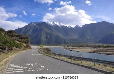 Natural scenery of Tibet