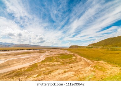 Natural scenery of Tibetan Plateau,China