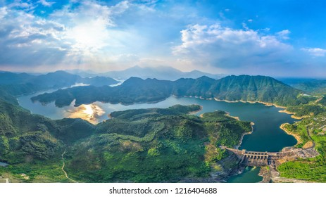 Natural scenery of Wanquan River Basin, Hainan Province, China National Ecological Civilization Experimental Zone