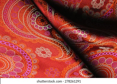 natural silk fold fabric texture