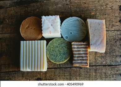 natural soap selection