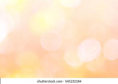 Natural soft lights blurred background