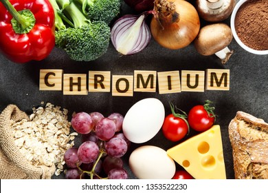 Natural sources of chromium