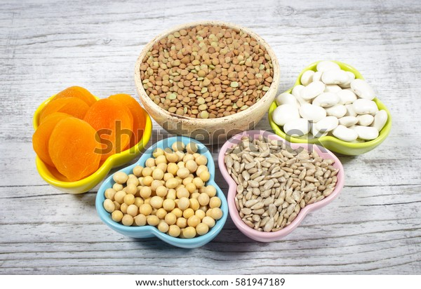 Natural sources of ferrum.  The concept of a vegetarian diet.