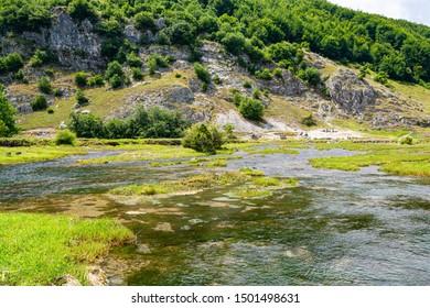 Natural springs Ali Pasha Izvori in Montenegro, Europe
