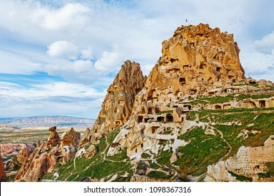Natural stone fortress in Uchisar