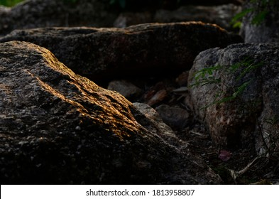 Natural stone on mountain  .nature background
