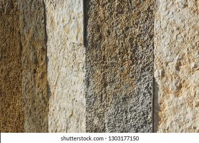 Natural stone patterns in Mali Losinj-Cikat bay, Adriatic coast, Croatia, Europe, 3