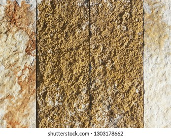 Natural stone patterns in Mali Losinj-Cikat bay, Adriatic coast, Croatia, Europe, 4