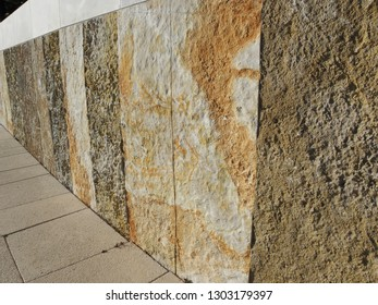 Natural stone patterns in Mali Losinj-Cikat bay, Adriatic coast, Croatia, Europe, 5