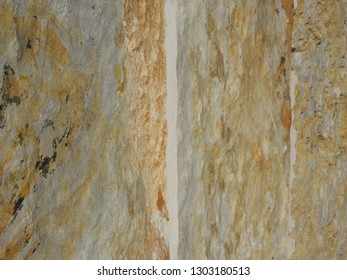 Natural stone patterns in Mali Losinj-Cikat bay, Adriatic coast, Croatia, Europe, 6