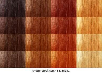natural tint color hair large set