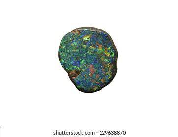 natural unpolished opal gemstone