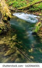 natural water stream, gauchach ravine