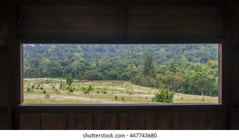 natural window beautiful in thailand