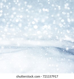 Natural winter background with snow shiny drifts