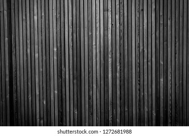 natural wood lath line arrange pattern texture background - black and white colors