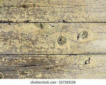 Natural wood texture with flaked paint for background
