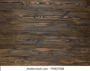 Natural  wood texture. Spruce colored with stain. Abstract background, empty template