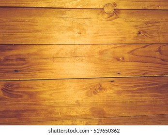 Natural wooden background with golden surface abstract texture