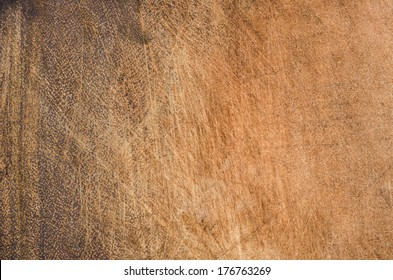 Naturally old wooden chopping background.