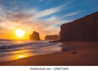 Nature in Australia. Great ocean road