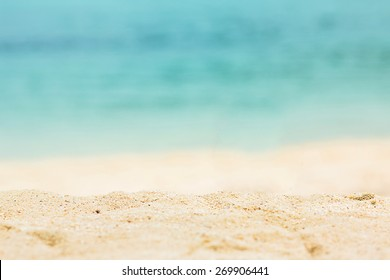 Nature beautiful Sand beach background.