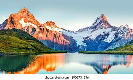 Nature beauty in the mountains valley - Shutterstock ID 1902734536