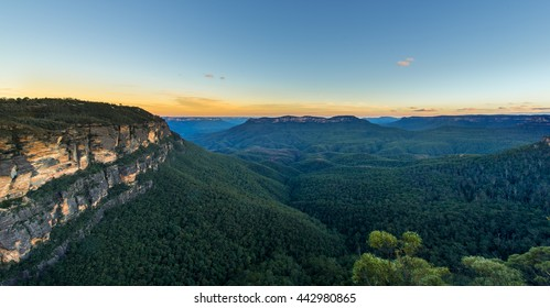 Nature in Blue mountains national park.