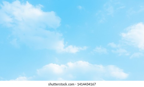 Nature of blue sky with clound in the day  background