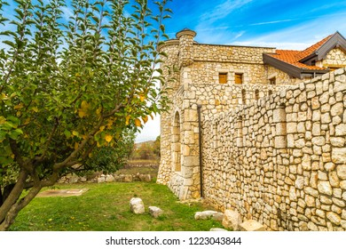 nature and buildings of Medjugorje in Bosnia and Herzegovina