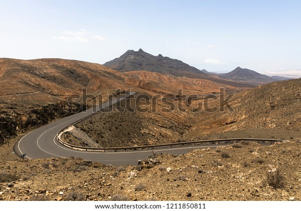 Nature desert road