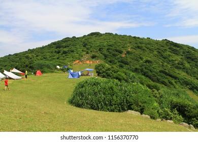 the nature of Grass island at hong kong
