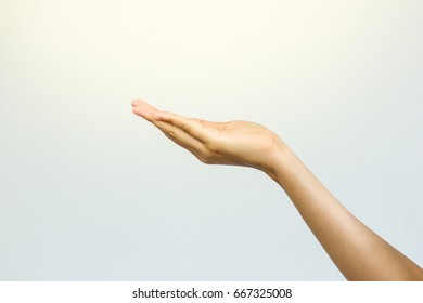 The nature of the hands in the various verbs.