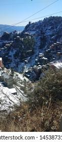 Nature of Himalaya Heavy Snowfall Hilss