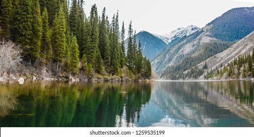 Nature, Kolsay lake, National Park
