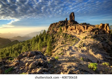 Nature and landscape of the Canary Islands - Mountains of Gran Canaria