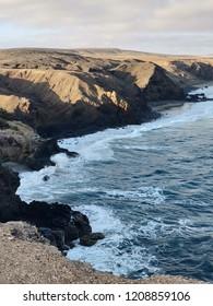 Nature landscape in Fuerteventura