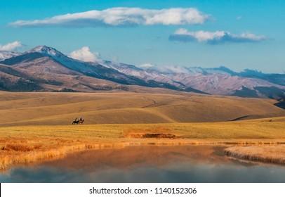 Nature Landscape of Kazakhstan, Trans-Ili Alatau, plateau Assy.