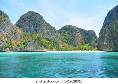 Nature landscape, Phi Phi islands, Thailand, Asia