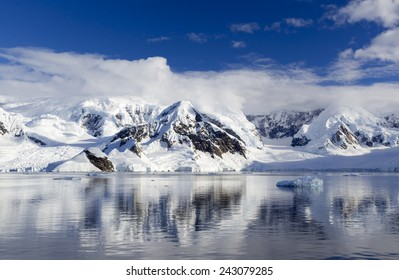Nature and landscapes of Antarctic. Climate changes, structure of the atmosphere. Thawing of ices and phenomenon of global warming.