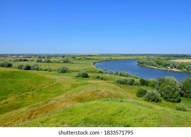 Nature landscapes of the Moscow region