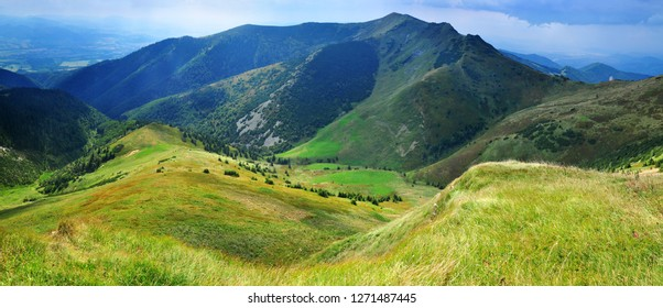 Nature Mountains panorama of Mala Fatra