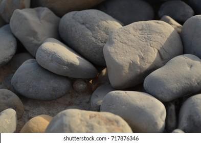 nature mounts stones